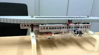 getlinkyoutube.com-湘南モノレール模型テスト走行_Nスケール1/150