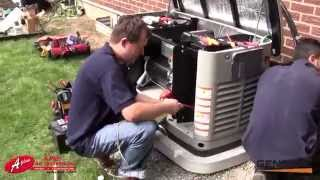getlinkyoutube.com-Generac 22 kW Standby Generator Installation by Aplus Air Systems Inc