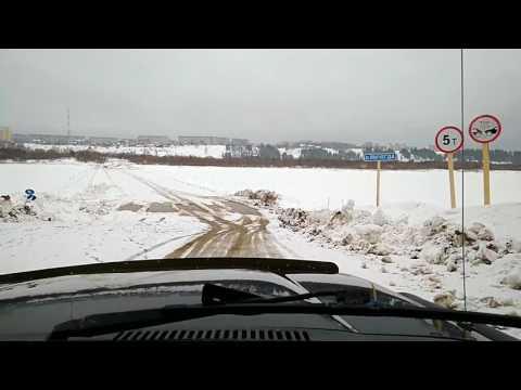 Toyota LandCruiser 80 переправа