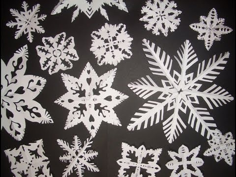 Come realizzare i cristalli di neve con la carta - Fai da Te Mania