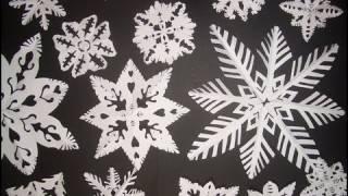 getlinkyoutube.com-Come fare i fiocchi di NEVE di CARTA - How to do PAPER SNOWFLAKES (ENGLISH SUBS!)