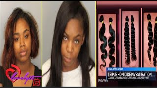 getlinkyoutube.com-Two 18-year-olds a77ested in a triple ^urder over some d@mn hair weave!