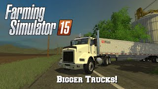 getlinkyoutube.com-Farming Simulator 15: Mod Spotlight #79: Bigger Trucks!