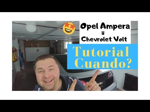Opel ampera,Chevrolet Volt-Cuando ?Empieza el tutorial de mantenimiento.?