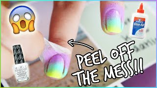 NAIL HACK: Clean Manicure in Seconds!