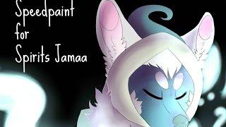 getlinkyoutube.com-Speedpaint: Spirits Jamaa