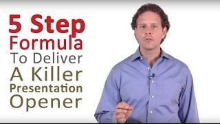 getlinkyoutube.com-How to Do a Presentation - 5 Steps to a Killer Opener
