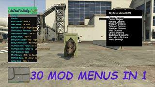 getlinkyoutube.com-Xbox 360 GTA 5 1.26/TU26 Online/Offline Mod Menu + Download