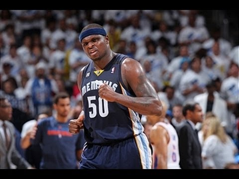 Zach Randolph Does Work in OKC