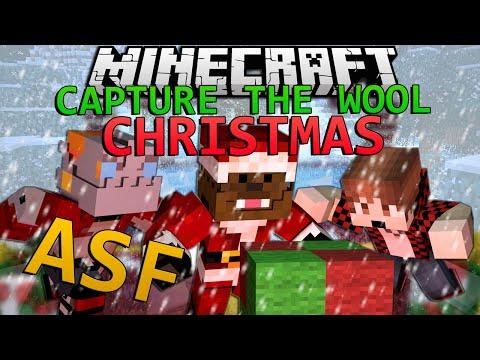 Minecraft WINTER Capture The Wool w/ Team ASF!