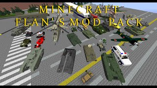 getlinkyoutube.com-Minecraft Flans Mod 1.7.10 Pack (best Flans models with too many items & crafting guide)