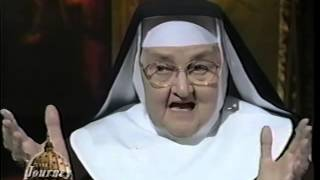 getlinkyoutube.com-Mother Angelica: Life-long Catholic - The Journey Home Program
