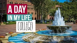 getlinkyoutube.com-A Day in My Life: COLLEGE (USC)