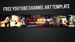 getlinkyoutube.com-CS:GO Channel Art Template [Free]