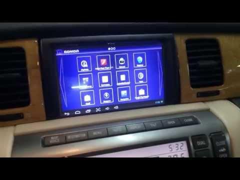 SC430 Андройд дооснащение, замена штатного дисплея на HD