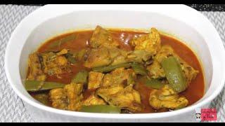 getlinkyoutube.com-Chicken with chichinga Jhol(মুরগি চিচিঙ্গার ঝোল)