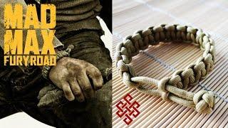 getlinkyoutube.com-How to Make a Mad Max Paracord Cobra Stitch Bracelet Tutorial