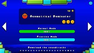 getlinkyoutube.com-Geometry Dash 2.0/Level 19 - Geometrical Dominator