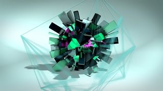 getlinkyoutube.com-Geometric - After Effects Intro Template - Element 3D V2  - Plexus