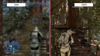Star Wars Battlefront: 2004 vs. 2015 Graphics Comparison