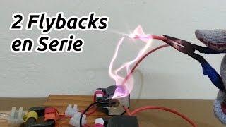 getlinkyoutube.com-Conexión de dos Flyback en Serie - Super Alto Voltaje