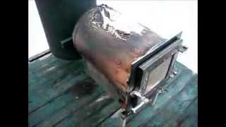 getlinkyoutube.com-Large Rocket Stove