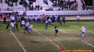 getlinkyoutube.com-Awesome Rivalry Pt 2 Wood Vs Bulldogs 2012 Best Passing QB Marky