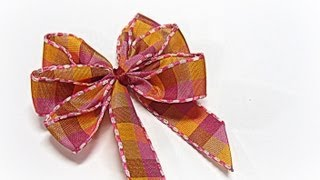getlinkyoutube.com-Perfect bows (easy). Lazos perfectos.