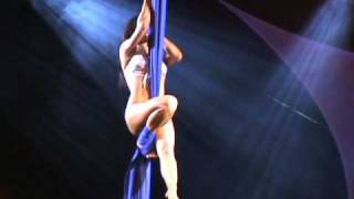 getlinkyoutube.com-Miss Nude Australia Arianna Starr Curtain Acrobatics