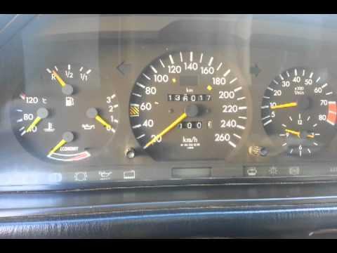 Давление масла w124 двигатель 104