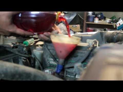 Где находится у Honda Inspire щуп масла в коробке