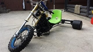 getlinkyoutube.com-Zongshen 250cc 5spd motorised drift trike. 110km/h