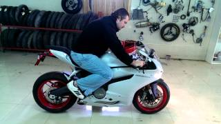 MotoPro: Ducati Panigale 899 first start