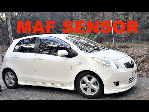 How To Clean (MAF) Mass Air Flow sensor 2006-2017 Toyota Yaris