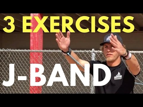 How To: 3 J-Band Exercises To Throw Harder | Baseball Throwing Drills