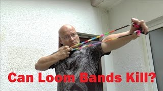 getlinkyoutube.com-How To Weaponize Rainbow Loom Bands