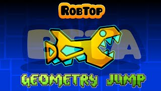 "getlinkyoutube.com-EL NIVEL DE LA BETA DE ""GEOMETRY JUMP"" (Geometry Dash 1.0) - Bycraftxx"