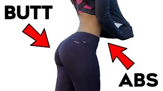 getlinkyoutube.com-🔥Powerful Abs and Butt Workout For Women | 4 Lower Body Abs and Buttocks For Curvy Figure!