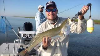 getlinkyoutube.com-Texas Slam on Artificial Lures: Redfish, Flounder, and Trout Texas Laguna Madre
