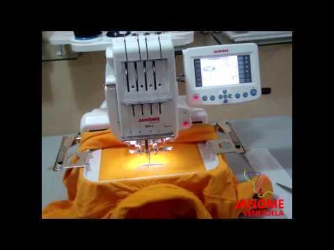 Maquina de Bordar Janome MB4 - Vídeo Demostrativo