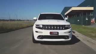 getlinkyoutube.com-Jeep Grand Cherokee SRT8 - XFORCE Exhaust System