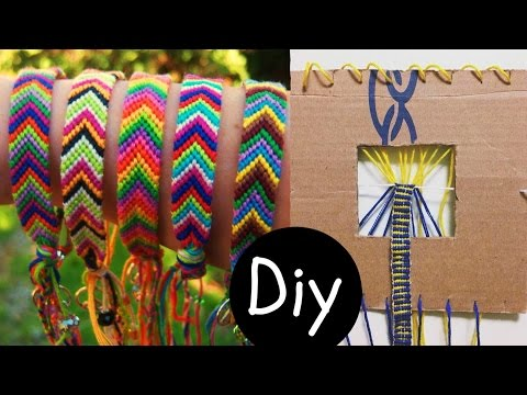 DIY #5: Fazedor de pulseira Friendship Bracelets (tear pulseira hippie) | Igor Saringer