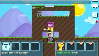 getlinkyoutube.com-Growtopia Scam Fail 2 Diamond Locks! :O