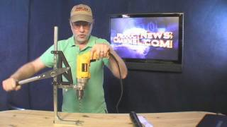getlinkyoutube.com-Portable Drill Press Strong Arm 5 Product News Channel Tool Review Gadget