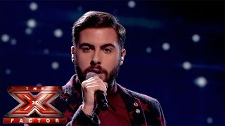 Andrea Faustini sings Whitney Houston's One Moment In Time | Live Week 2 | The X Factor UK 2014