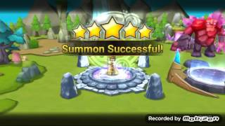 getlinkyoutube.com-Summoners War - Ritual for natural born 5 star * summoning! - Wind Desert Queen Hathor!!!