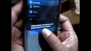 getlinkyoutube.com-UNFORTUNATELY THE PROCESS COM ANDROID PHONE HAS STOPED