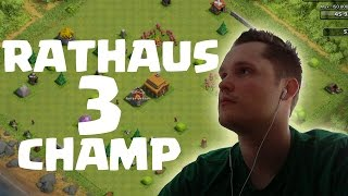 getlinkyoutube.com-[facecam] RATHAUS 3 CHAMP! || CLASH OF CLANS || Let's Play CoC [Deutsch/German HD]