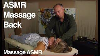 getlinkyoutube.com-Relaxing Back Massage - ASMR