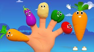 getlinkyoutube.com-Vegetables Finger Family   Nursery Rhymes From kids Tv